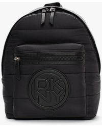 DKNY Toby Black Backpack