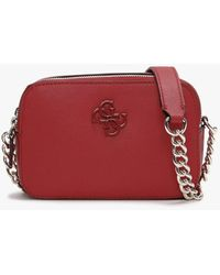 Guess Noelle Red Camera Bag