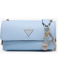 Guess Narita Sky Convertible Cross-body Bag - Blue