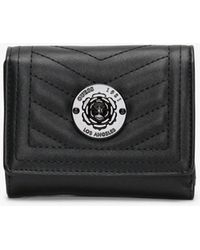Guess Small Lida Trifold Black Wallet