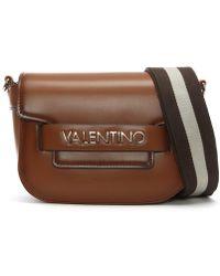 Valentino By Mario Valentino - Blast Tan Logo Cross-body Bag - Lyst
