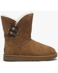 5b820369207 Constantine Chestnut Twinface Boots - Brown