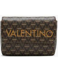Valentino By Mario Valentino Liuto Tan Repeat Logo Belt Bag - Multicolour