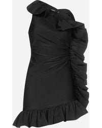 Amen - Mini abito con volants - Lyst