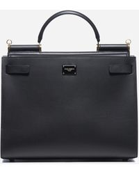 Dolce & Gabbana - Sicily 62 Large Leather Bag - Lyst