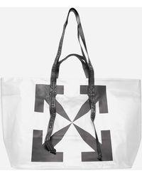 Off-White c/o Virgil Abloh Arrows-logo Technical Fabric Tote Bag - Multicolour