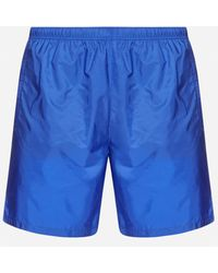 Prada Re-nylon Swim Shorts - Blue