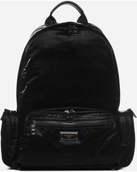 Dolce & Gabbana - Logo-plaque Nylon Backpack - Lyst