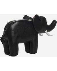 Thom Browne Elephant Small Leather Bag - Black