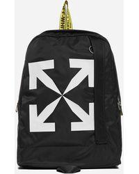 Off-White c/o Virgil Abloh Arrow Easy Nylon Backpack - Black
