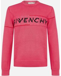 Givenchy Logo Cotton Jumper - Pink