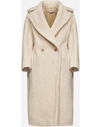 Blanca Vita Tuia Faux-shearling Coat - Natural