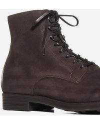 Officine Creative Chronicle 4 Leather Ankle Boots - Brown