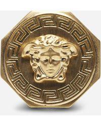 Versace - Medusa-logo Metal Ring - Lyst
