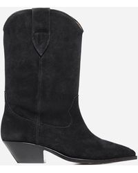Isabel Marant Duerto 40 Western Boots - Black