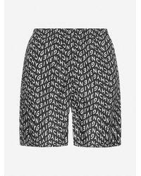 Givenchy All-over Logo Print Swim Shorts - Black