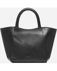 Atp Atelier Leuca Mini Calfskin Bag - Black
