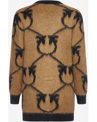 Pinko Cardigan Adelphi in misto lana - Multicolore