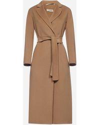 Max Mara Esturia Virgin Wool Coat - Brown