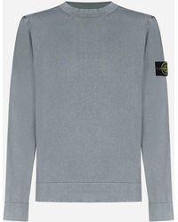 Stone Island Cotton Sweatshirt - Grey