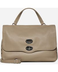 Zanellato Postina M Leather Bag - Natural