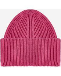 Laneus Wool And Angora Beanie - Multicolour