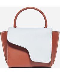 Atp Atelier Montalcino Mini Calfskin Bag - White