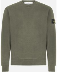 Stone Island Cotton Sweatshirt - Green