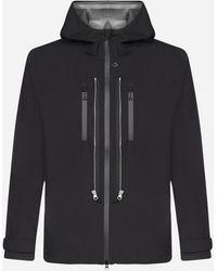 Stone Island Shadow Project Technical Fabric Hooded Jacket - Black