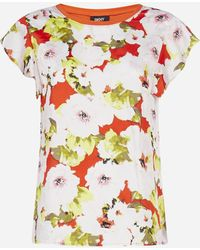 DKNY - Blusa con stampa floreale - Lyst