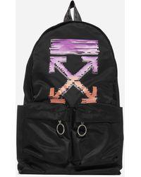 Off-White c/o Virgil Abloh Marker Arrows Nylon Backpack - Black