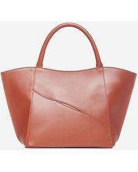 Atp Atelier Galatina Calfskin Bag - Red