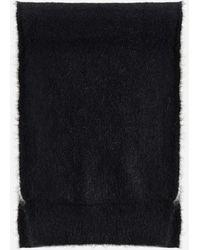Lanvin Logo Wool, Cashmere And Silk Scarf - Multicolour