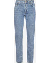 Burberry Distressed Denim Jeans - Blue