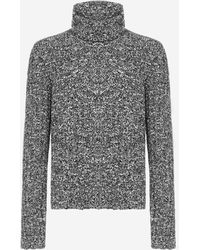 Dolce & Gabbana - Virgin Wool Turtleneck - Lyst