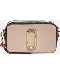 Marc Jacobs Snapshot Leather Shoulder Bag - Multicolor