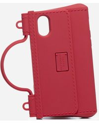 Dolce & Gabbana Iphone X- Xs Rubber Cover - Red