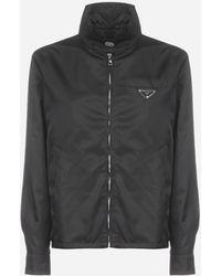 Prada Nylon Gabardine Jacket - Black
