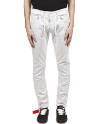 Off-White c/o Virgil Abloh Skinny Jeans - Multicolor