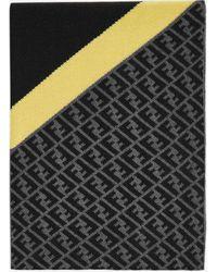 Fendi Ff Motif Wool Scarf - Multicolor
