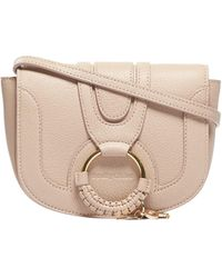 See By Chloé Leather Hana Bag Woman - Natural