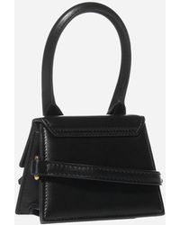 Jacquemus Le Chiquito Leather Bag - Black