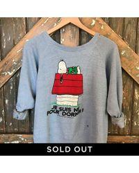 DANNIJO - Vintage Snoopy Sweatshirt - Lyst