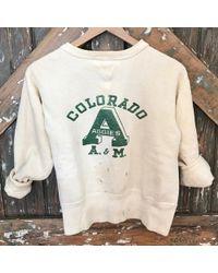 DANNIJO - Vintage A & M Colorado 50's Sweatshirt - Lyst