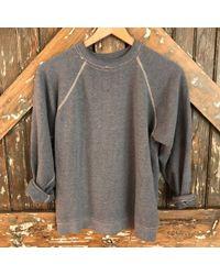 DANNIJO - Vintage Faded Grey Sweatshirt - Lyst