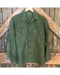 DANNIJO - Vintage Army Plain Jacket - Lyst