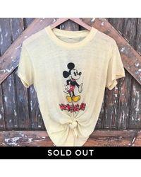 DANNIJO - Vintage Mickey Mouse Tee - Lyst