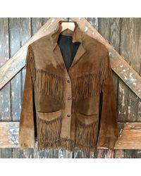 DANNIJO - Vintage 70's Suede Fringe Jacket - Lyst