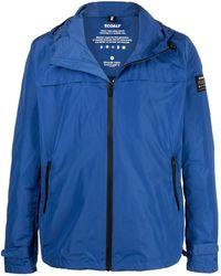 Ecoalf Dalven Zipped Hooded Jacket - Blue