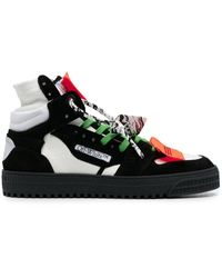 Off-White c/o Virgil Abloh 3.0 Off-court High-top Sneakers - Black